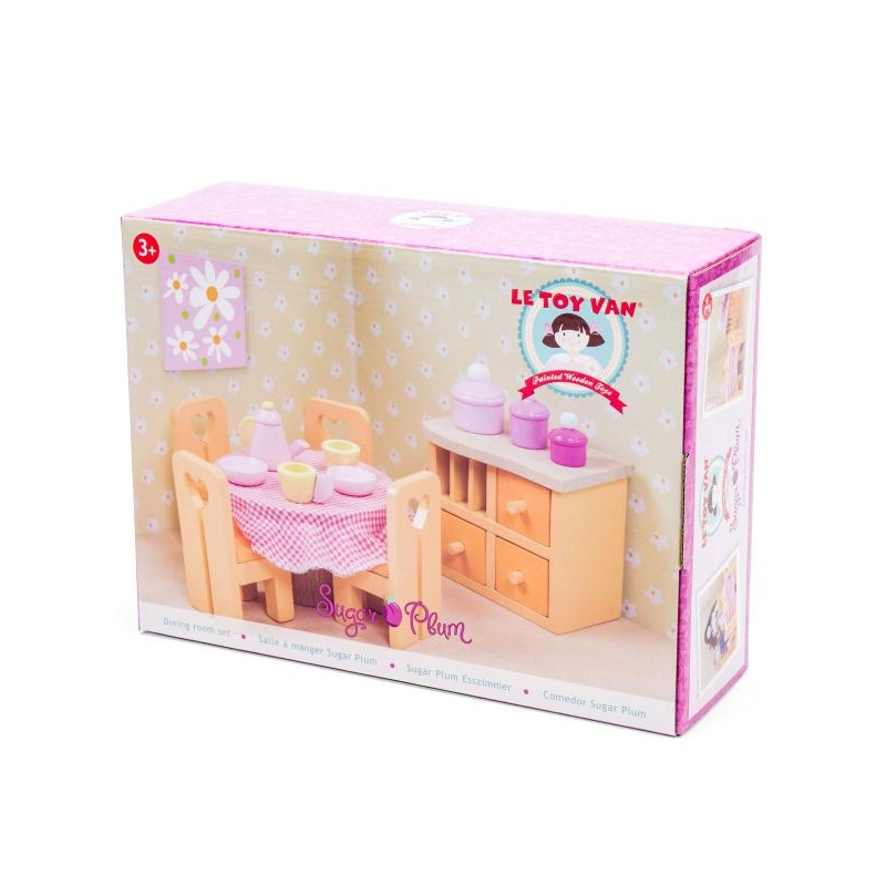 Dollhouse Furniture Sugar Plum Dining Room