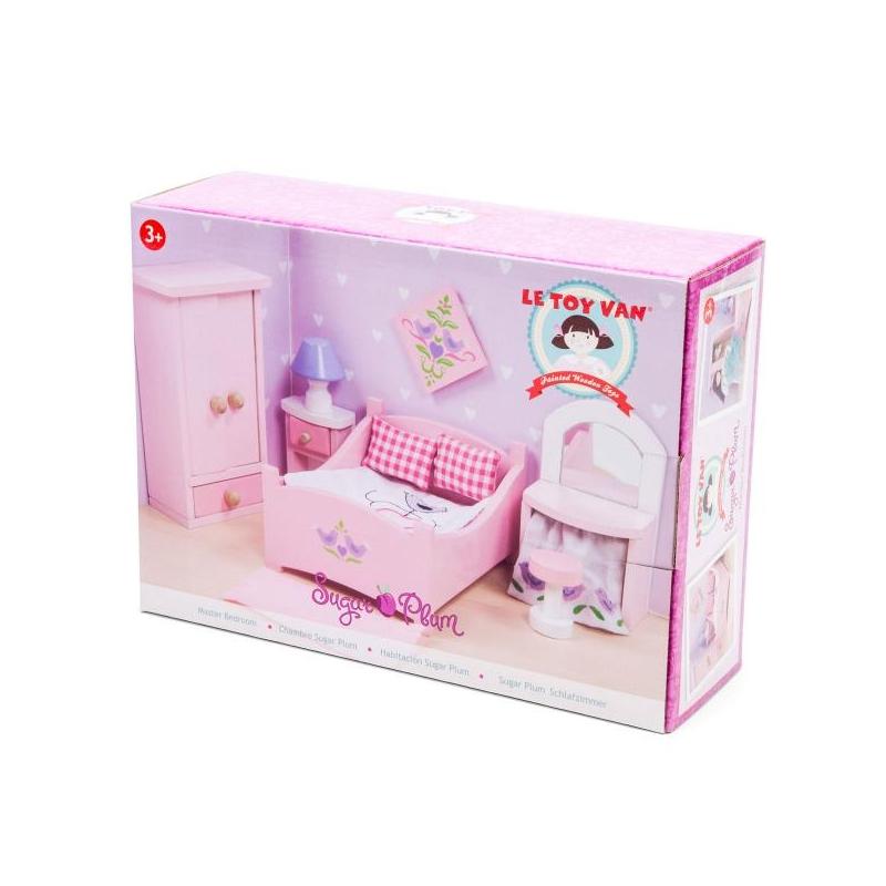 Dollhouse Furniture Sugar Plum Bedroom