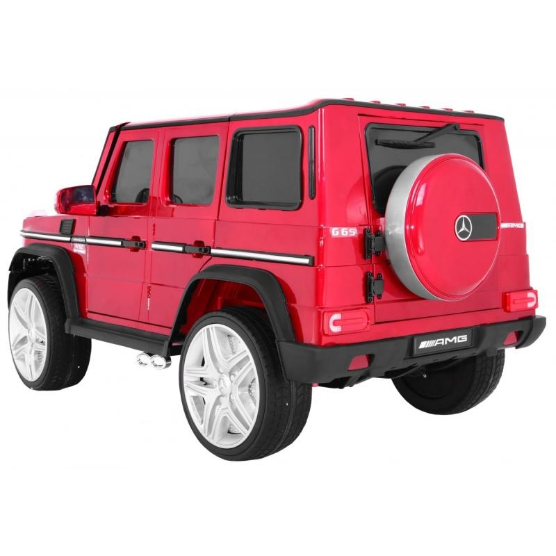 eb6ff9bf59c Elektriauto Mercedes G65 Punane Värvitud kere @ toysplanet.ee