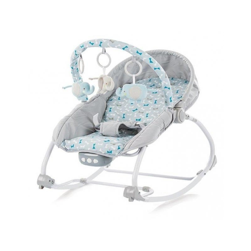 Stupendous Infant Rocking Chair With Music And Vibration Grey Onthecornerstone Fun Painted Chair Ideas Images Onthecornerstoneorg