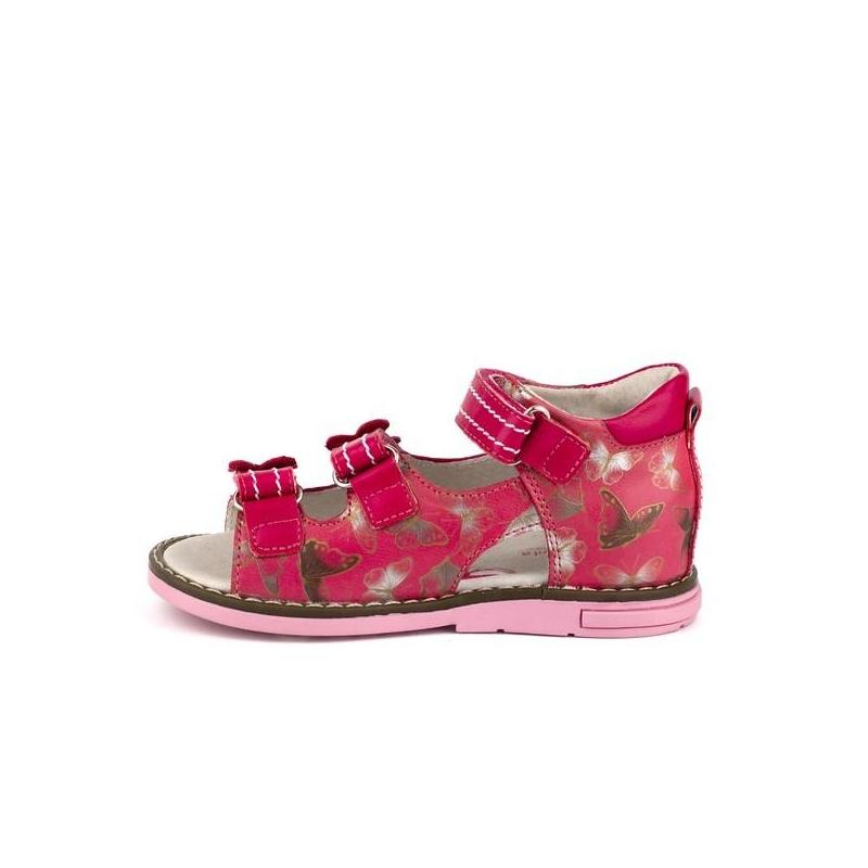 387f4cebe11 Tüdrukute sandaalid naturaalsest nahast Roosa · Tüdrukute sandaalid  naturaalsest nahast Roosa ...