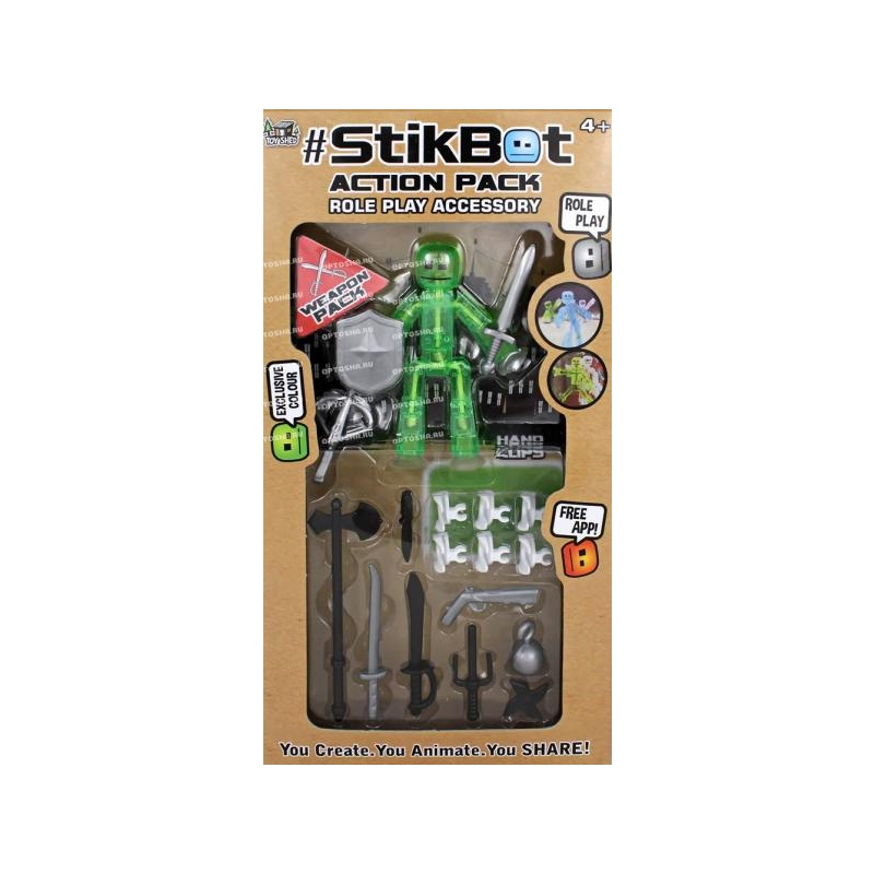 fd22a8b1c3c STIKBOT Action pack @ toysplanet.ee