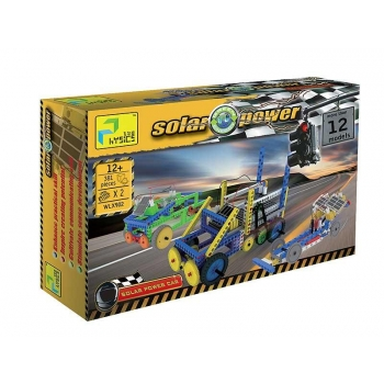 "Energy and Solar Power Set ""Cars"", 381 pcs"
