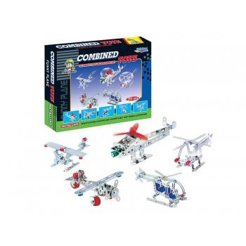 Children's Construction Set, Planes, 209 pcs