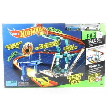 Hot Wheel Racing Track Set with 2 cars