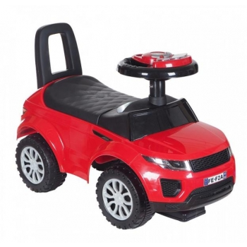 Push ride on car red