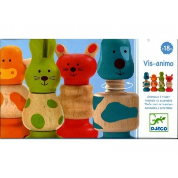 Wooden Vis-Animo Assembling Toy