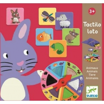 Tactile Discovery Loto Game Animals