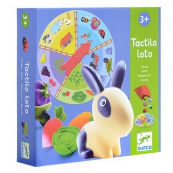 Tactile Discovery Loto Game Farm