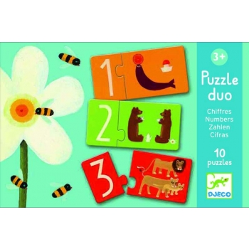 Duo - Trio Puzzles - Numbers