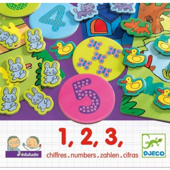 EDULUDO - 1,2,3  Numbers