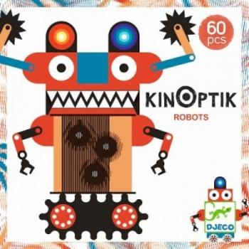 Magneetiline mäng ROBOTID, 60 osa Kinoptik