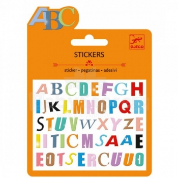 Small Stickers - Coloured letter
