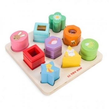9 pieces sensory tray
