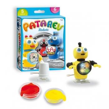"""Käsitöökomplekt plastiliiniga Patarev """"Robotid"""""""