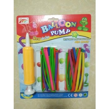 Children's Modelling Balloons Set / Balloon Twisting Kit with Pump