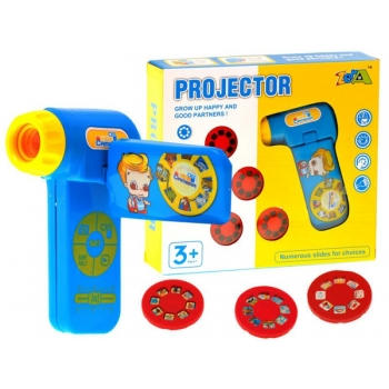 Детский проектор Фонарик Животные