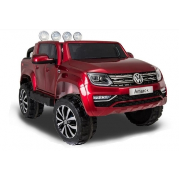 Children ride on car Volkswagen Amarok (Red) Painted
