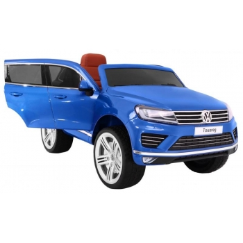Children ride on car Volkswagen Touareg (Blue) Painted