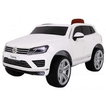 Children ride on car Volkswagen Touareg (White)