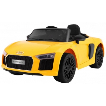 Children ride on car Audi R8 Spyder (Yellow)