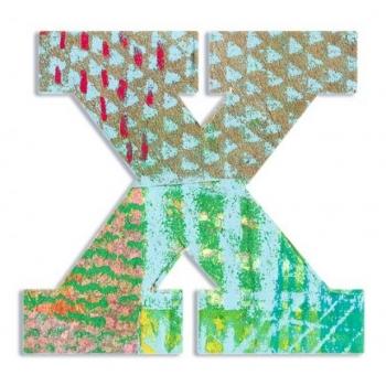 X - Peacock letter