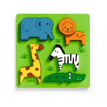 Wooden puzzle - Incrocodible