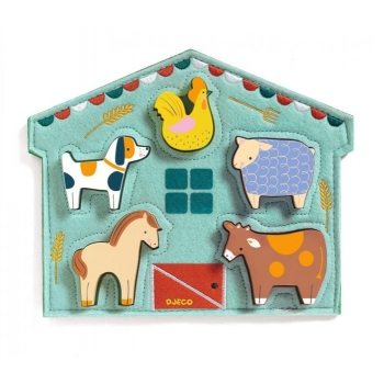 Wooden Puzzle - Relief - Mowy