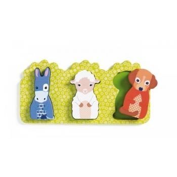 Wooden Puzzle - Relief - Rosalie