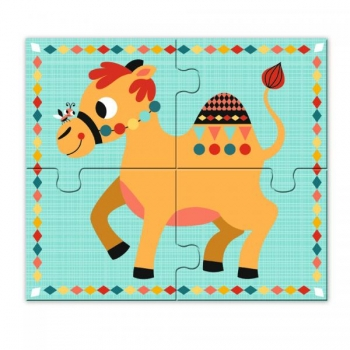 Educational wooden games - Rigolo n'co