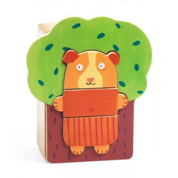 Toddlers - Tree cuddly puzzle