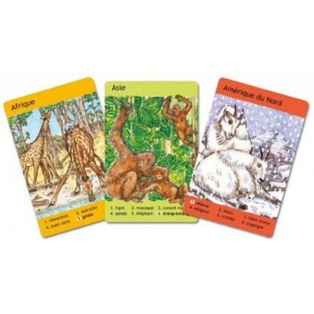 Card Games - Animaux du monde - French only