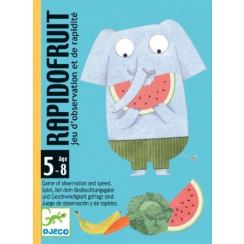 Playing card - Rapido fruit