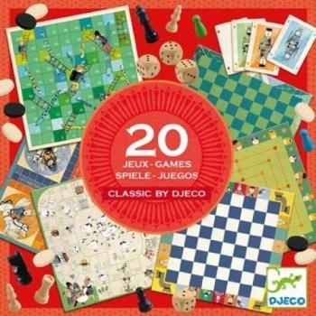 20 классических настольных игр DJECO