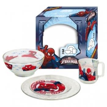 Laste lauanõude komplekt 3-osaline SPIDER MAN