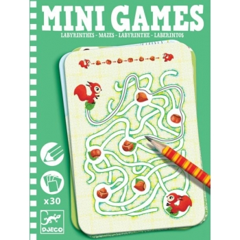 Mini games - Mazes by Ariane