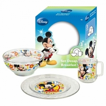 Mealtime set 3pcs. MICKEY