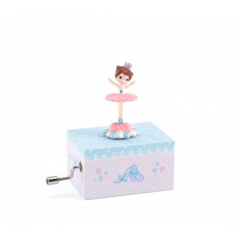 Hand cranked music boxes - Ballerina on stage