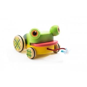 Pull along toys - Croafroggy