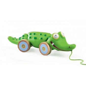 Pull along toys - Croc'n'roll