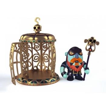 Arty Toys - Pirates - Gnomus & Ze cage