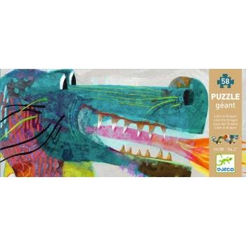 Giant Puzzle - Leon the dragon - 36pcs