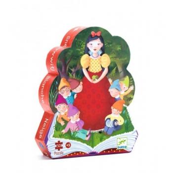 Silhouette puzzles - Snow white - 50 pcs