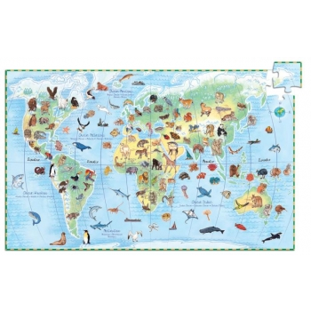 Puzzle - World's animals