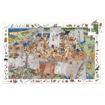 Puzzle - Fortified castle - 100 pcs