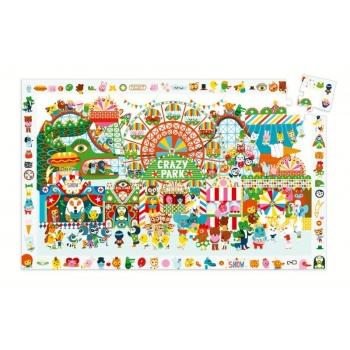 Puzzle - Crazy park - 35 pcs