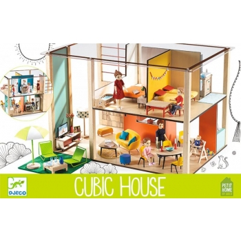 Doll's houses - Cubic house (House sold empty)
