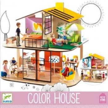 Doll's houses - Colour house (House sold empty)