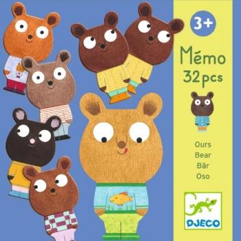 Educational games - Memo bear