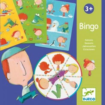 Educational games - Bingo seasons